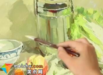 水粉静物孙玥-美术高考视频教学