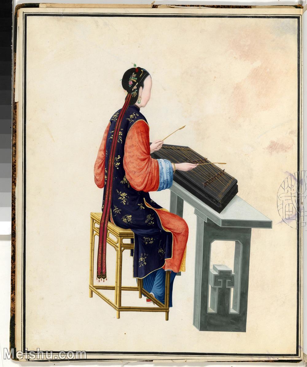 【印刷级】GH6061895古画清佚名女乐师图册(11)-乐器-人物-女人册页图片-19M-2400X2864.jpg