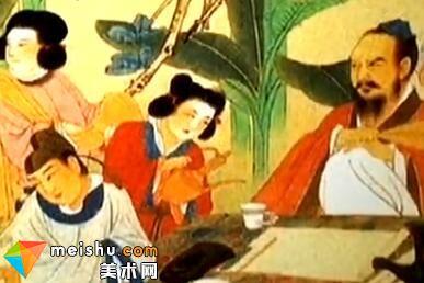 汤哲明讲述中国著名画家张大千的画作-今晚我们赏画