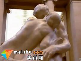 文艺复兴-奥古斯特·罗丹的「吻」