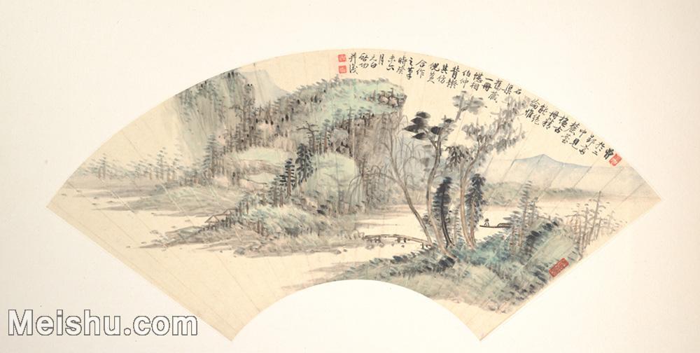 【欣赏级】GH6070384古画山水风景扇面图片-5M-2000X1009.jpg