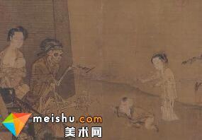 中国画除了山山水水 竟然还有骷髅(李嵩)-艺术很难吗