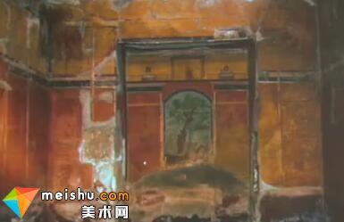 对庞贝壁画特别的探索-罗马建筑