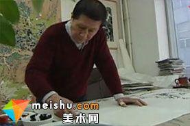 「中国美术」手指画-中华绝技
