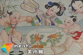 「民俗美术」年画-中华绝技