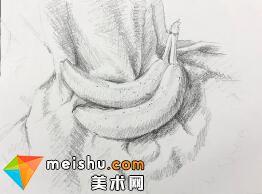 「素描」美术教程(英文)7-02-水果静物素描