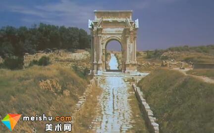帝王在罗马北非的起源-罗马建筑