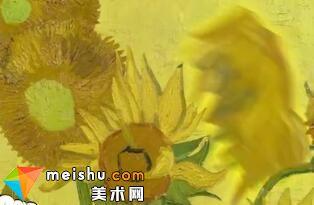 """史上最名贵的向日葵,竟然暗藏玄""""基""""(梵高)-艺术超好玩"""