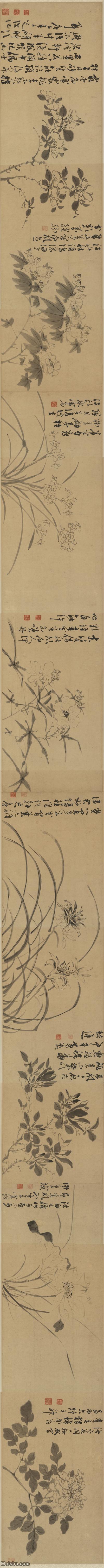 【超顶级】GH7272157古画花卉长卷图片-448M-48474X3233.jpg