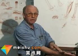 前臂解剖素描-人体素描示范04(Lower Arm)