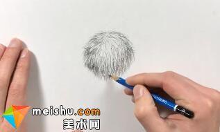 「素描」美术教程(英文)8-01-为图案创造材质