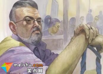 「水彩」纽约地铁-手绘帮