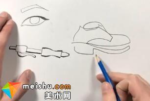 「素描」美术教程(英文)3-01-线条的绘画基础