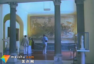丰富和著名的生活方式:住宅和别墅在庞培城-罗马建筑