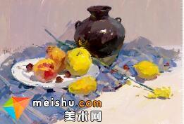 水粉教程静物肖美成-美术高考视频教学(二)