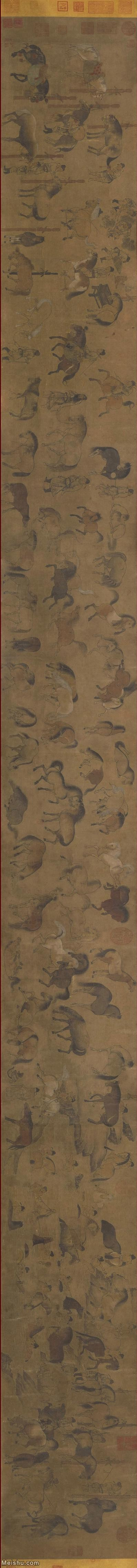 【打印级】GH7270607古画宋-佚名-百马图卷长卷图片-73M-17067X1500_1166013.jpg