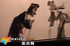 「民俗美术」皮影大师廉振华-中华绝技