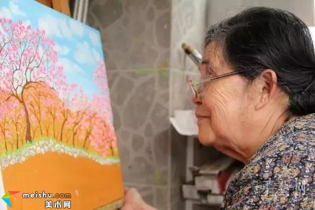 梵高奶奶常秀峰走了:一位伟大的农民艺术家