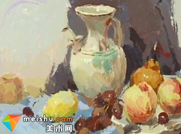 水粉静物王雄白罐-美术高考视频教学