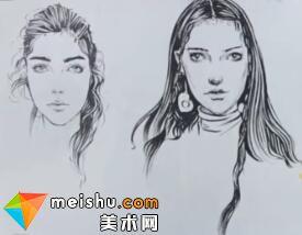 超级速写描摹本—服装设计手绘篇(女性头部)