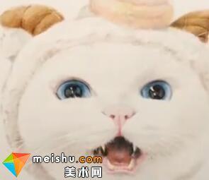 「彩铅猫狗绘 我的云养日记」-李白(共2集)-彩铅教程