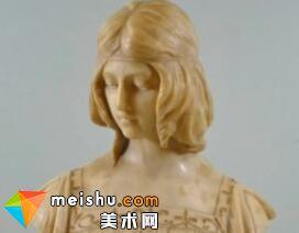 雕塑空间形体与泥塑头像示范教学视频