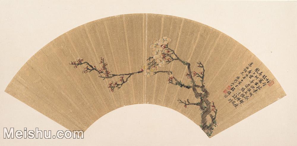 【欣赏级】GH6070213古画花卉植物树木扇面图片-5M-2000X987.jpg