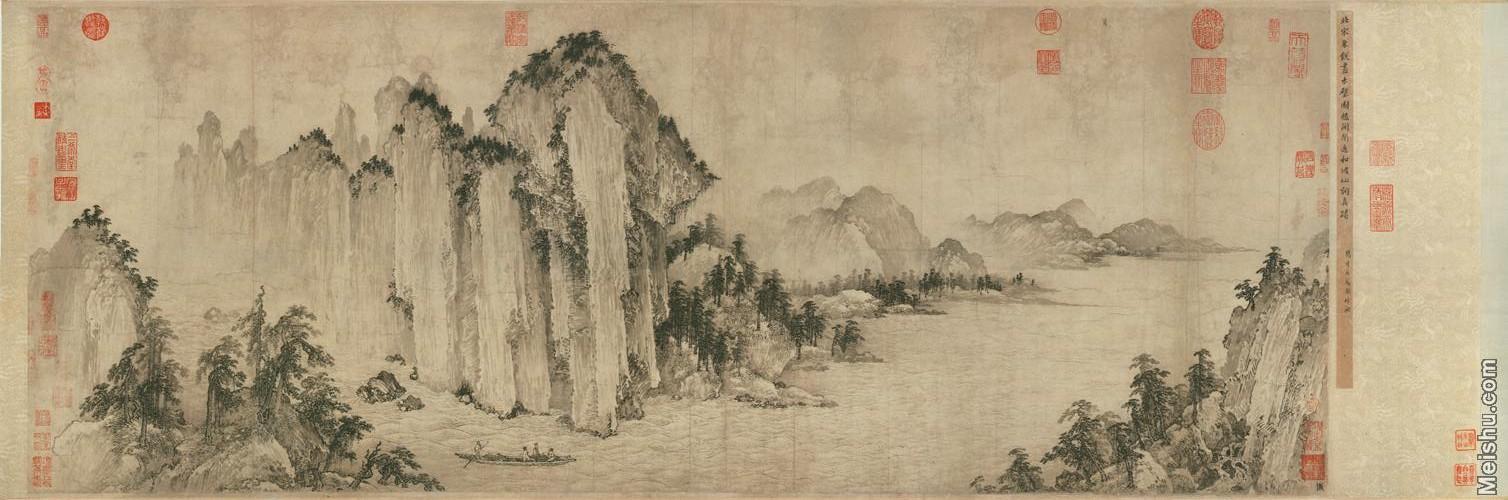 【超顶级】GH7280130古画山水风景武直元赤壁图镜片图片-331M-18680X6194.jpg