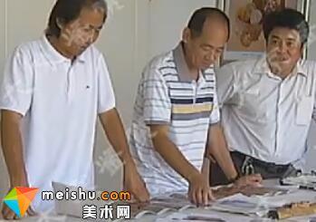 王元友花岗岩浮雕壁画《美人鱼》