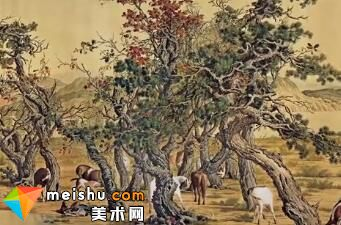 郎世宁:三代皇帝都宠爱的鬼佬-艺术很难吗
