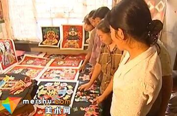「民俗美术」剪纸-生命的流向-中国工艺珍宝