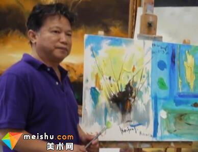 当代中国书画家吕中元:大气磅礴幽妙入微-艺生