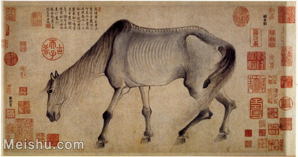 【打印级】GH6080099古画动物南宋 袭开 骏骨图小品图片-15M-3246X1718.jpg