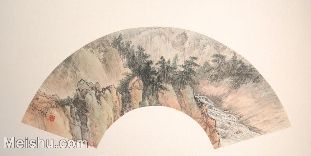 【欣赏级】GH6070385古画山水风景扇面图片-5M-2000X1007.jpg