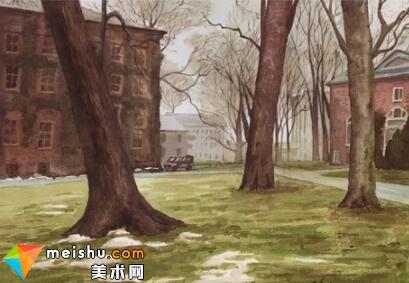 「水彩风景」普林斯顿-手绘帮