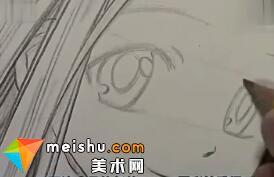 铅笔手绘人物教程-手绘漫画教程