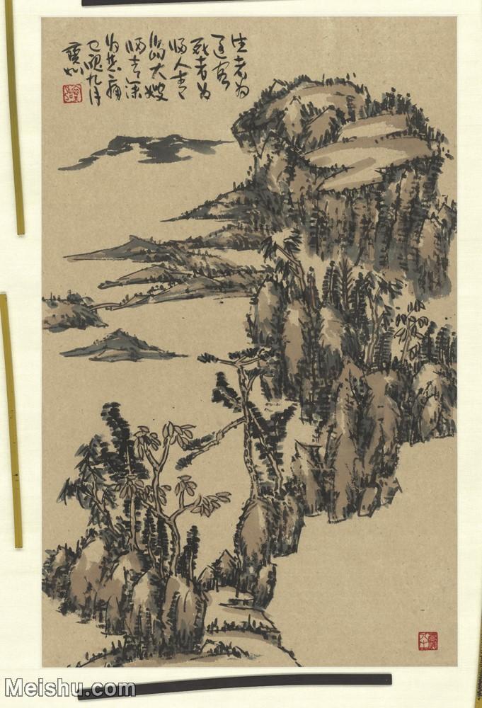 二玄社【超顶级】GH6040154古画立轴山居图山水风景图片-503M-16064X10944.jpg