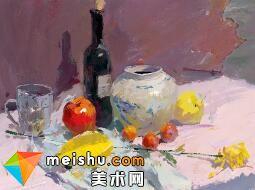 水粉教程静物肖美成-美术高考视频教学(一)