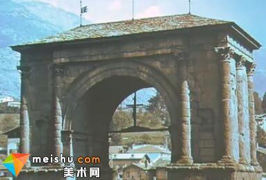 建造西部边疆上的迷你罗马-罗马建筑