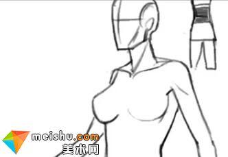 「轻微课」手绘漫画人物设计-人体结构与动态