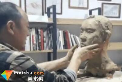 雕塑家曹雄教授雕塑头像精品课程(一)