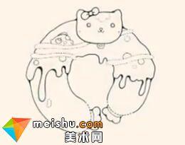 「創意兒童畫」甜甜圈-兒童簡筆畫教程