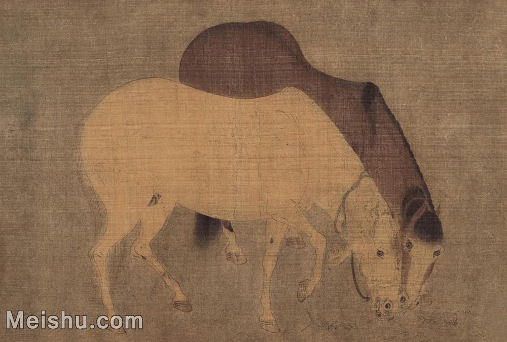 【打印级】GH6080151古画动物陈居中进马图小品图片-23M-3457X2333.jpg