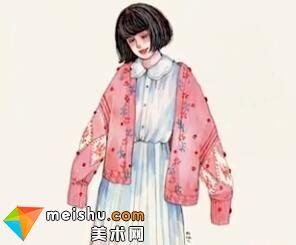 「水彩人物绘」装饰花纹-美术高考视频教学