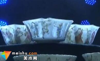 清道光粉彩梁山一百单八将套碗-收藏秀 2011