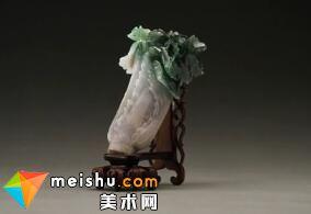 清晚期 翠玉白菜-对焦国宝