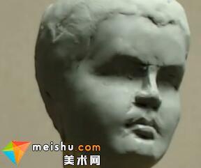 「雕塑」雕塑优秀作品鉴赏与泥塑小孩头像示范视频教学