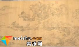 元代王振鹏「江山胜览图」-收藏秀 2011