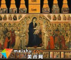 「西方艺术史」杜乔和祭坛画-西方美术史