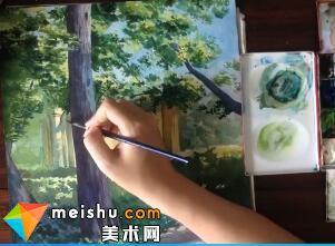「水彩风景」加利福利亚(全集)-手绘帮